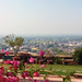 A view from terrace of neemrana fort