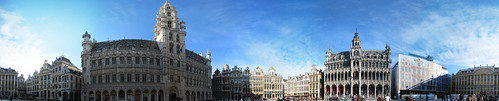 Grand Place 360 panorama | by carlossg