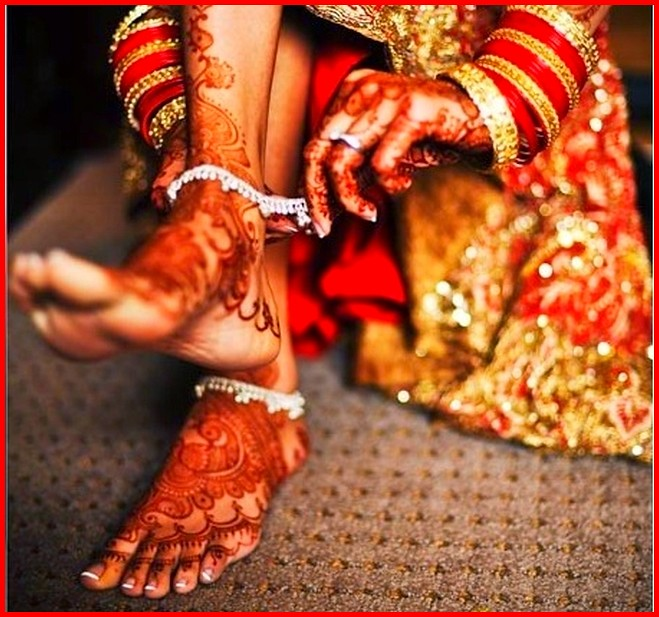 Indian Bridal Feet  Indifetish  Flickr-4064