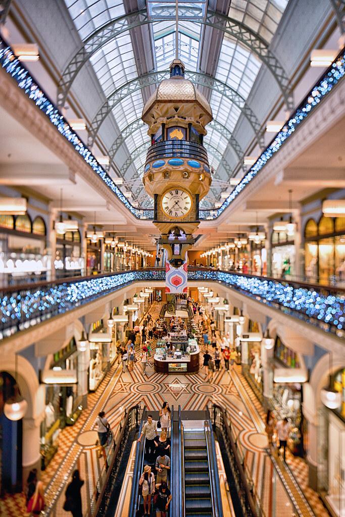 Queen Victoria Building The Festive Season Has Hit The