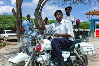 Mahel Abdi Muse, Policeman in Hargeisa, Somaliland | by Alfred Weidinger