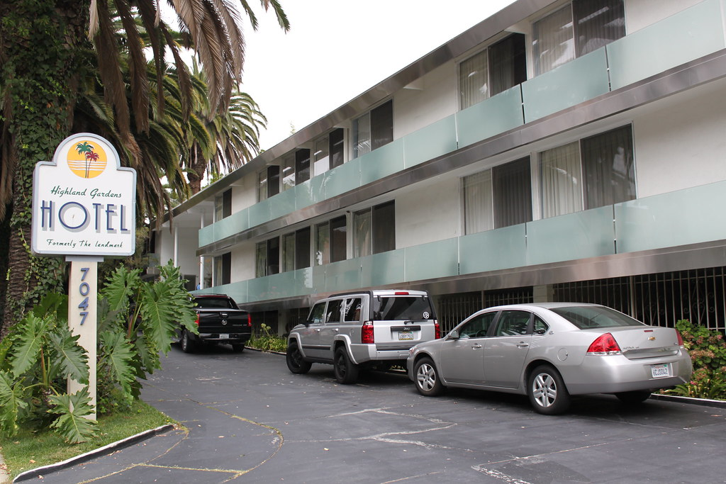 The Former Landmark Motor Hotel Where Janis Joplin Died Flickr