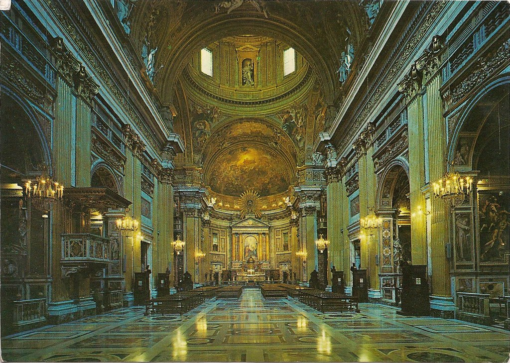Roma Chiesa Del Ges Interno Morgaine Flickr