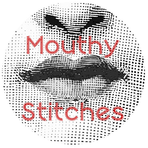 Mouthy Stitches | by Flying Blind On A Rocket Cycle