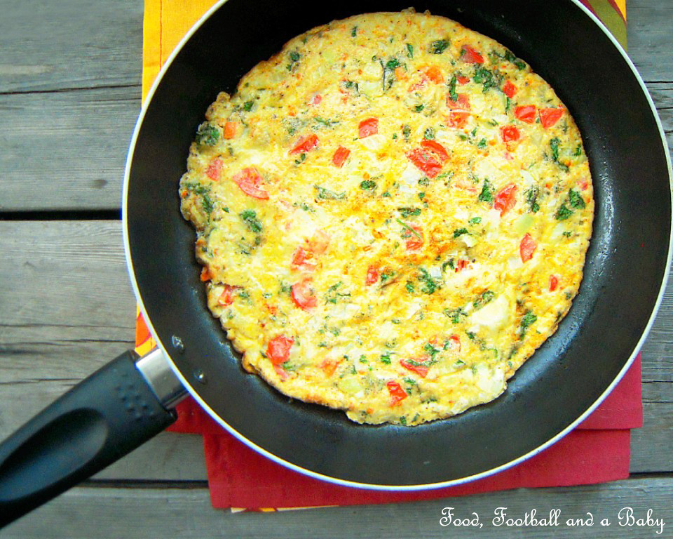 Spicy Omelette, Indian Style | Michelle Peters - Jones | Flickr