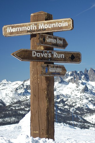 The Top Of Mammoth | by dualdflipflop