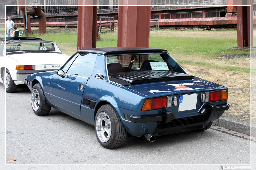 1972 Fiat X1/9 (01) | The Fiat X1/9 is a two-seater mid ...