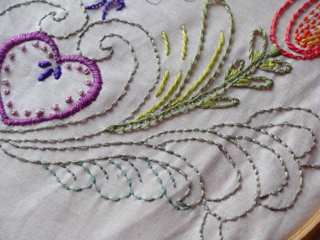 Hand embroidery ged amanda wytas ackermann flickr