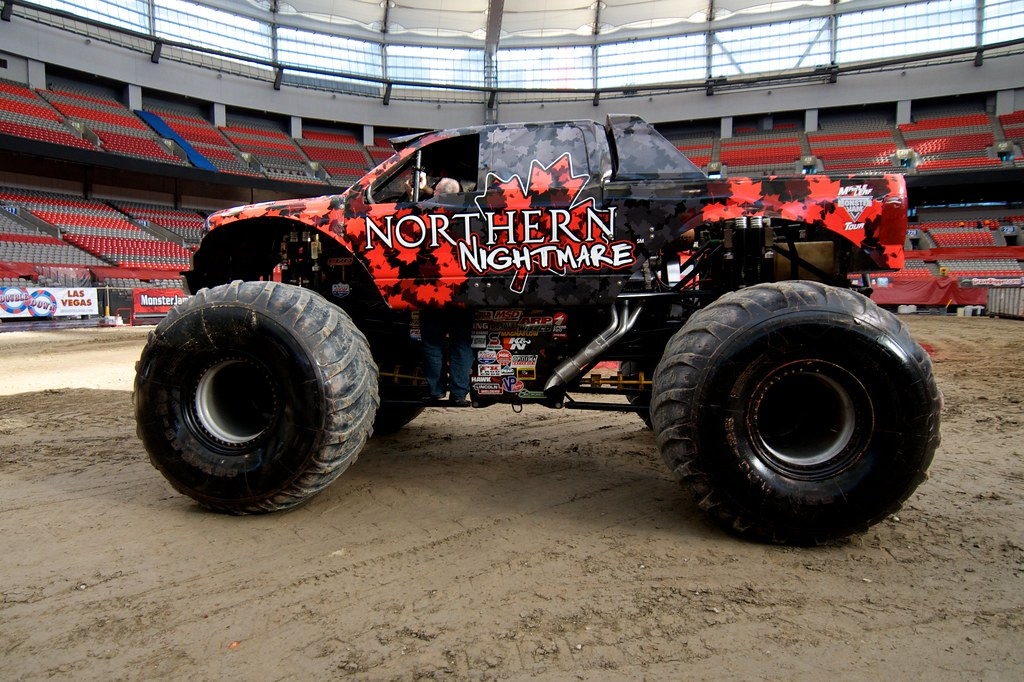 Monster Truck Videos Who Let The Dogs Out