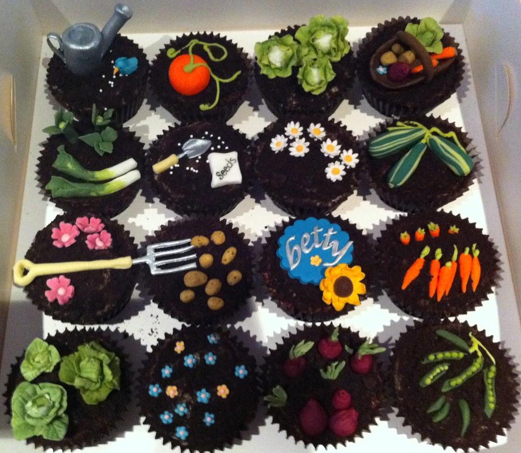 Vegetable Birthday Cake
