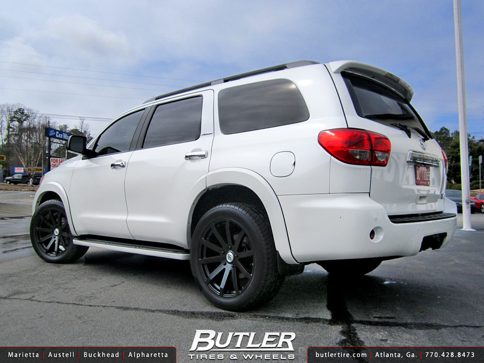 Toyota Sequoia with 22in Black Rhino Traverse Wheels | Flickr
