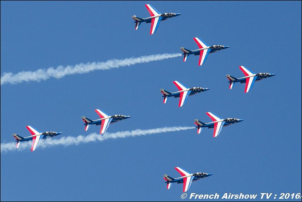 Patrouille de France 2016 , BA-701 Salon de Provence , Meeting Aerien 2016