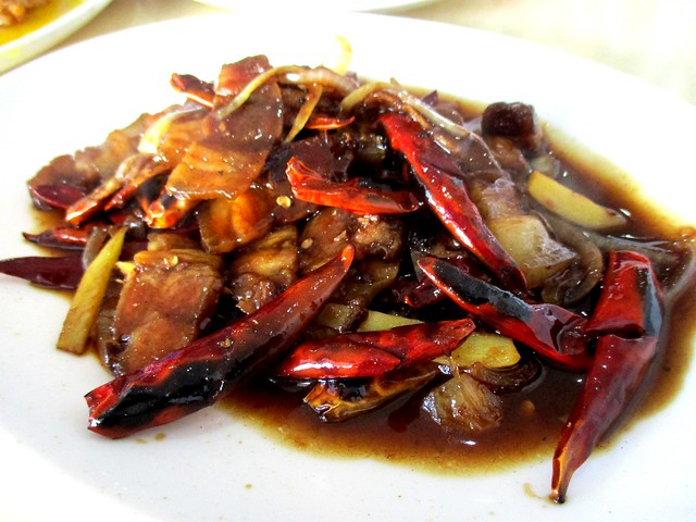 Y2K fried pork belly with salted fish and dried chili 1