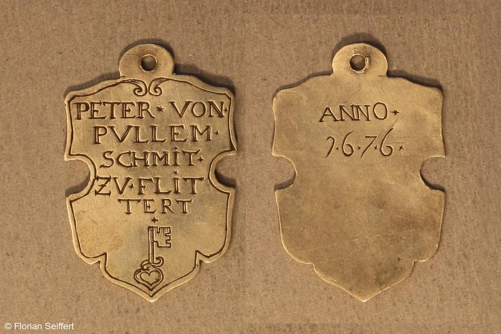 Koenigsschild Flittard von pullem peter von aus dem Jahr 1676