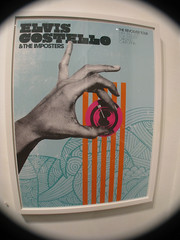 giant artists_elvis costello poster