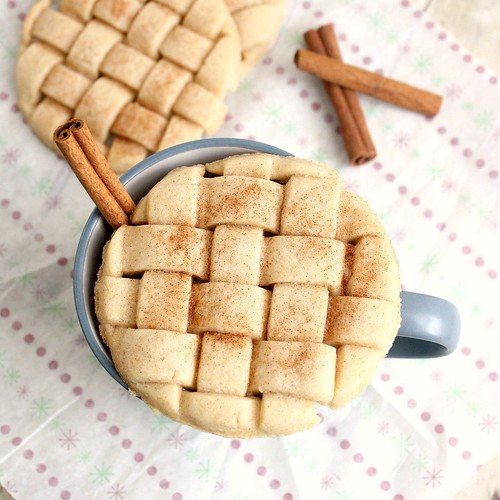 Eggnog Lattice Sugar Cookies | by Tracey's Culinary Adventures