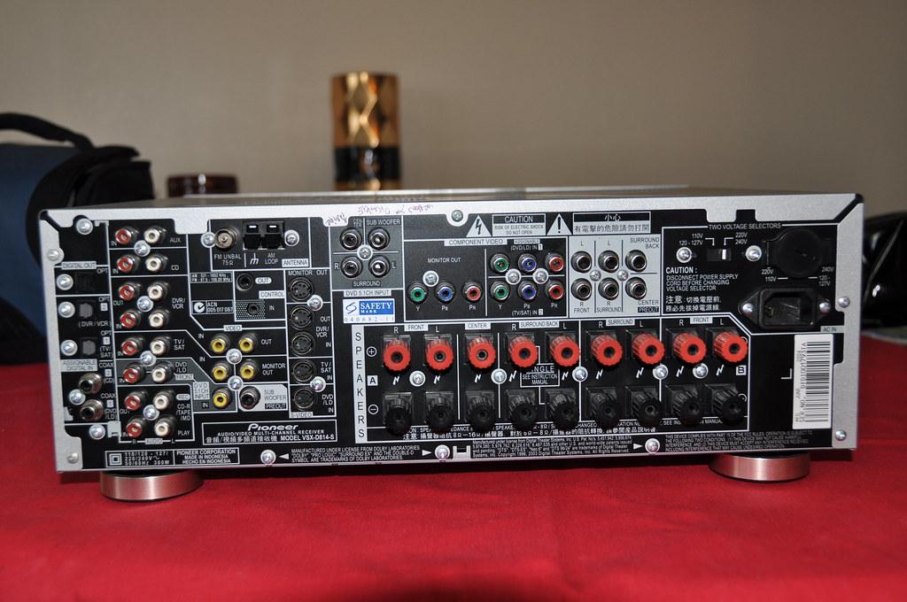Pioneer VSX-D814 | Sean Hamlin | Flickr