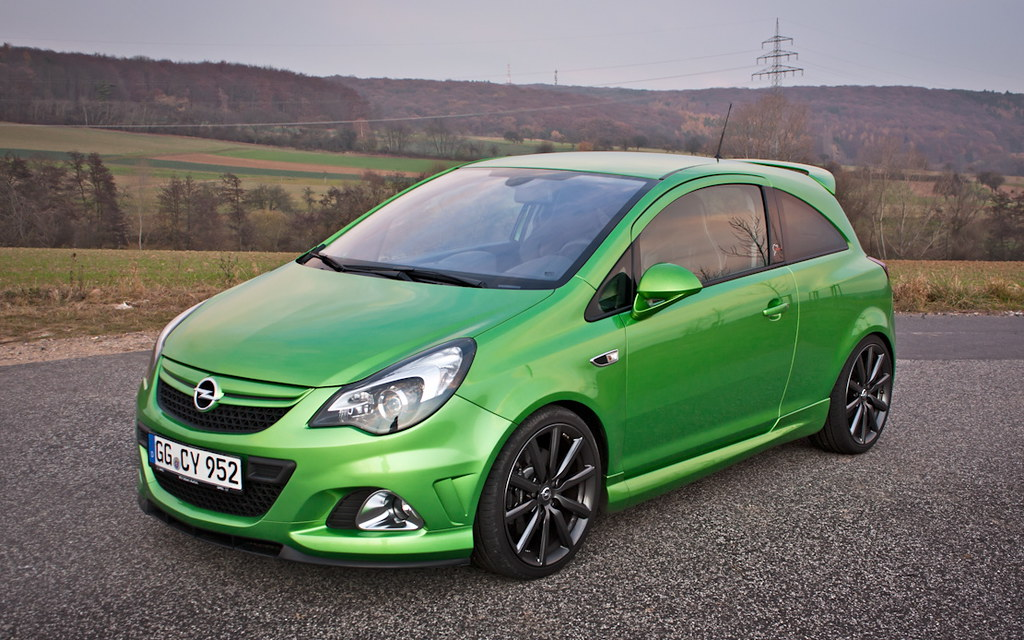 opel corsa opc n rburgring edition picture taken by. Black Bedroom Furniture Sets. Home Design Ideas
