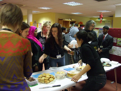 Our tea and cake sale starts | by Refugee Council