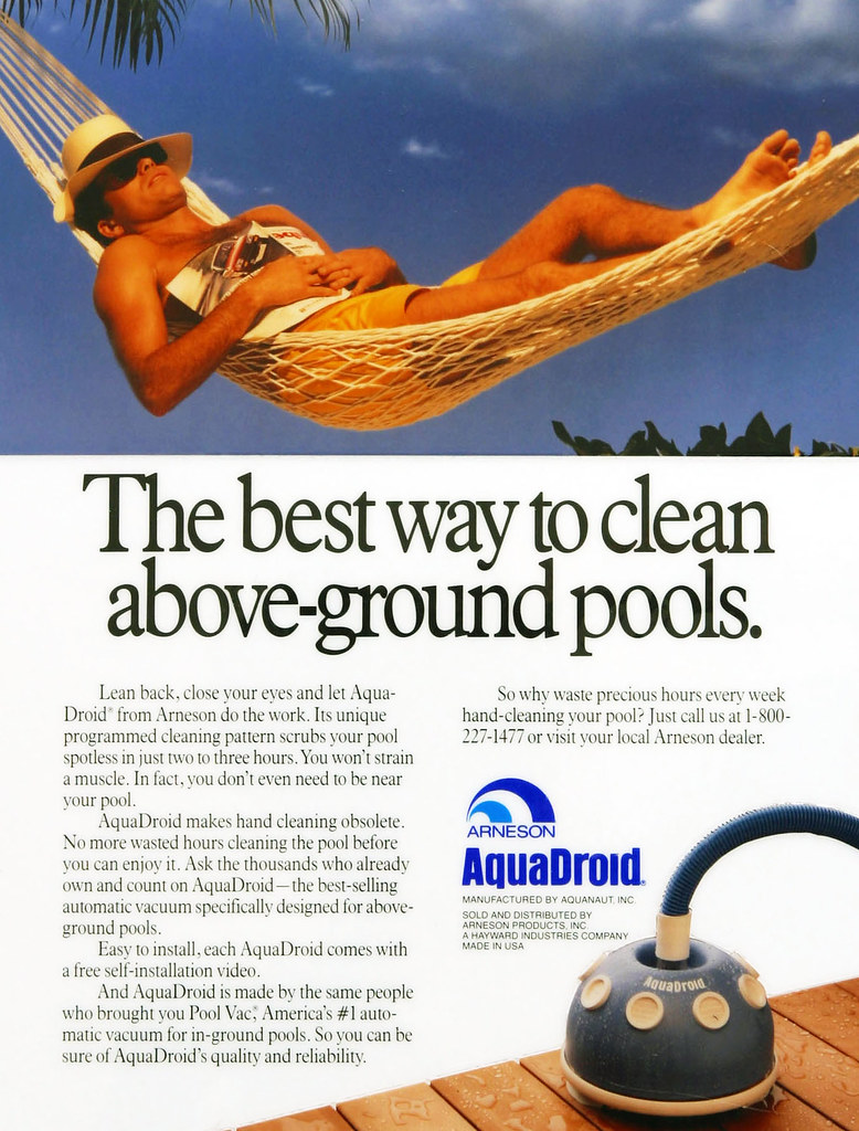 Magazine Ad Swimming Pool Products Steve Wolowitz Art Direction Flickr