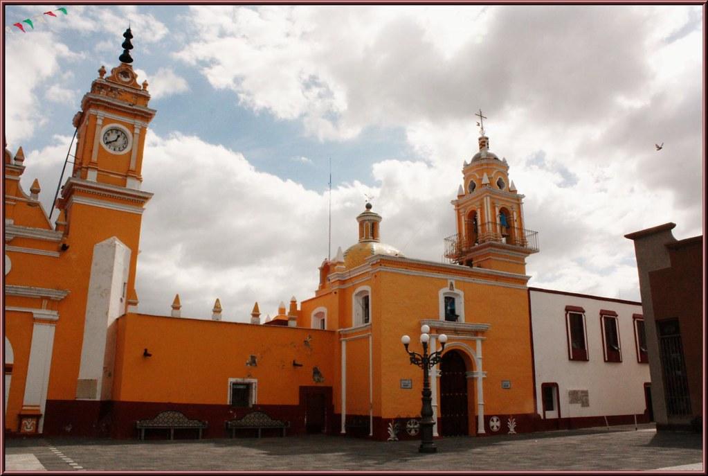 Parroquia De San Luis San Luis Tehuiloyocan San Andr 233 S Cho