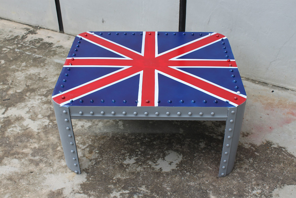 Union Jack Industrial Coffee Table Gone But Not Forgotten Flickr