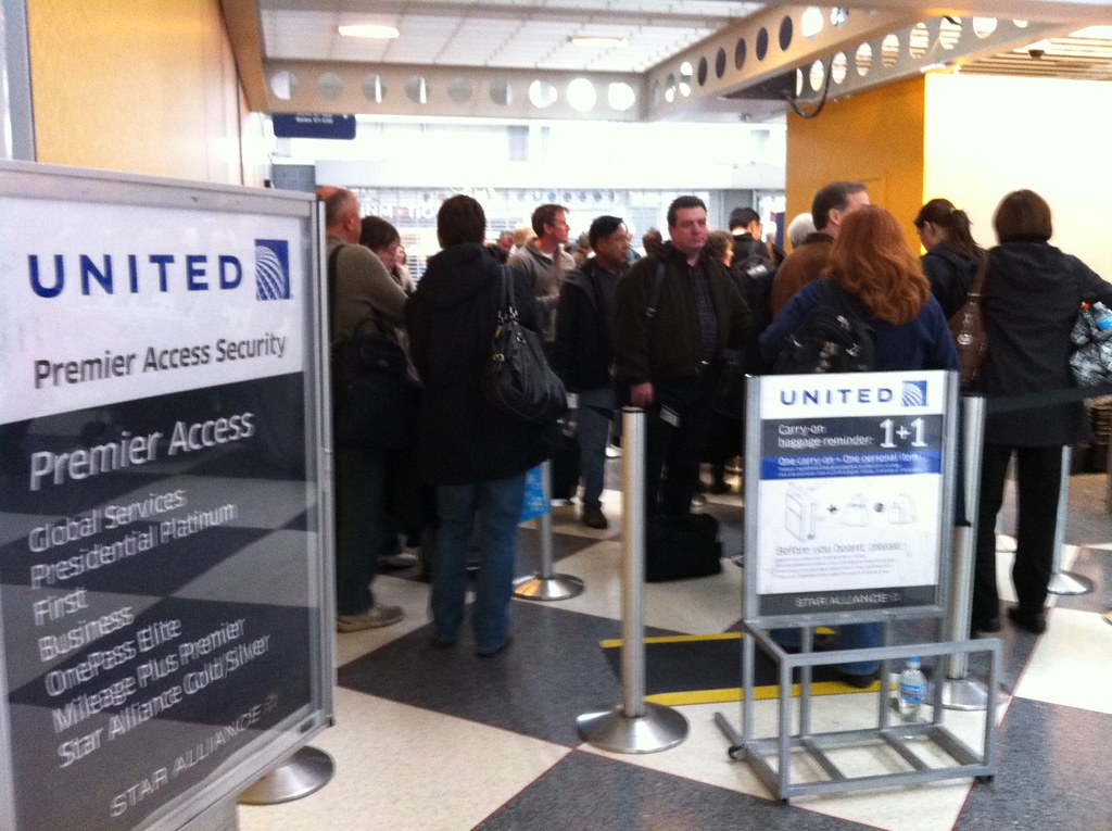 United Mileage Plus >> United Airlines Degradation of Primmer Security Line Acces ...
