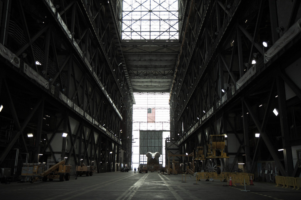 Interior of the Vehicle Assembly Building (VAB). | The ...