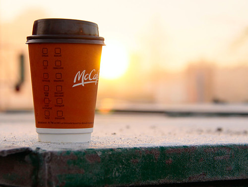 Abandoned McCafe at dawn | by waferboard