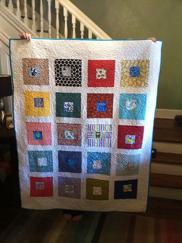 First baby quilt - Front | by laurenjonkman