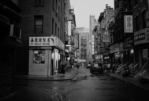 Rain on Pell Street - Chinatown - New York City | by Vivienne Gucwa