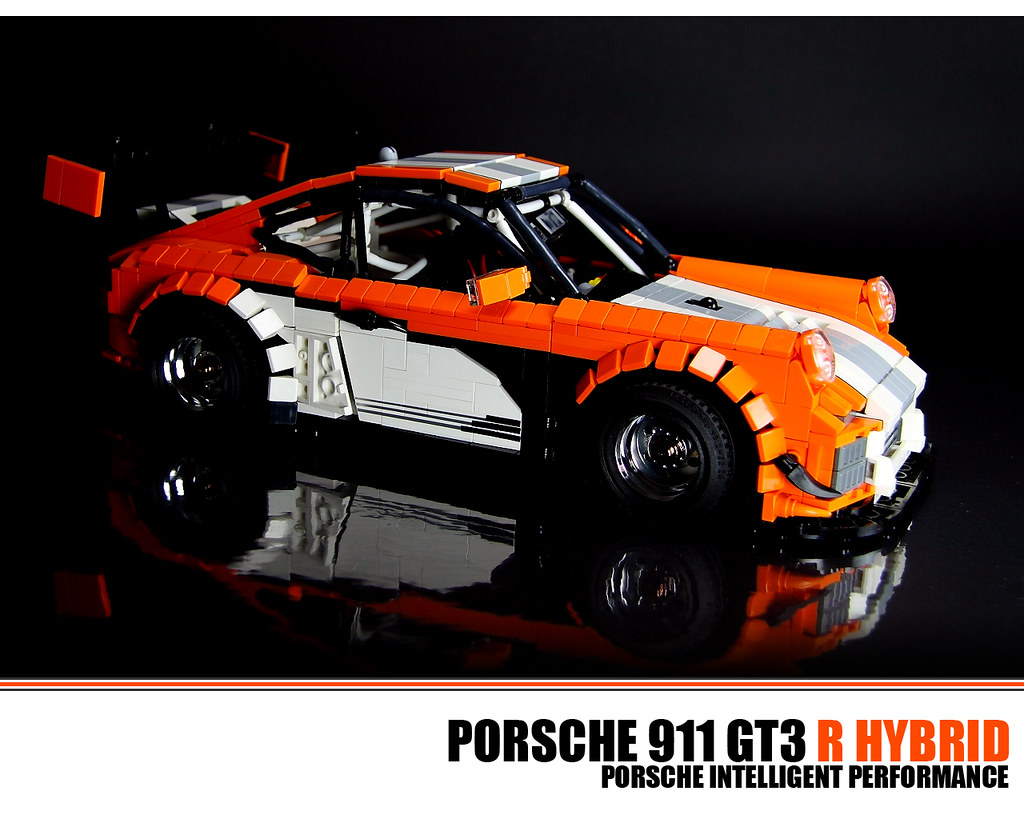 lego porsche 911 gt3 r hybrid the porsche 997 gt3 r. Black Bedroom Furniture Sets. Home Design Ideas