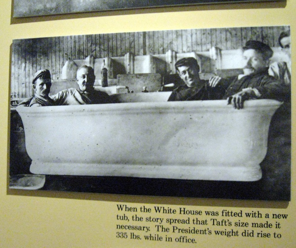 The Infamous Taft Bathtub There Is An Oft Repeated And