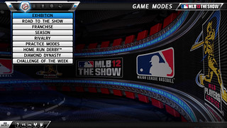 PS3: MLB 12 The Show - Main Menu | by PlayStation.Blog