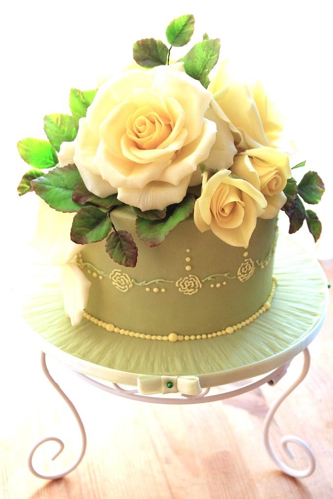 White Cake Enrobed