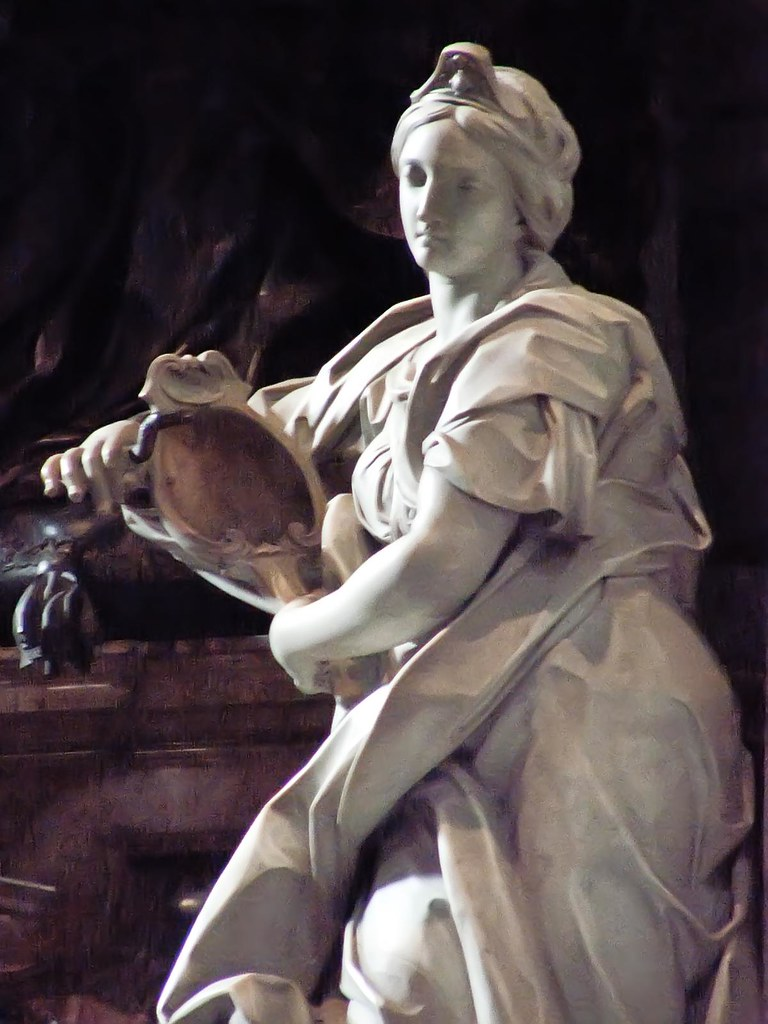 Allegory of prudence by angelo de rossi on the monument of flickr