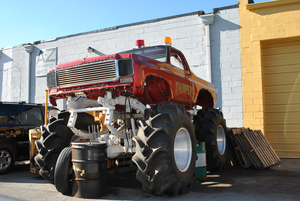 GMC Jimmy Monster Truck   1977-1980 model I spotted this ...