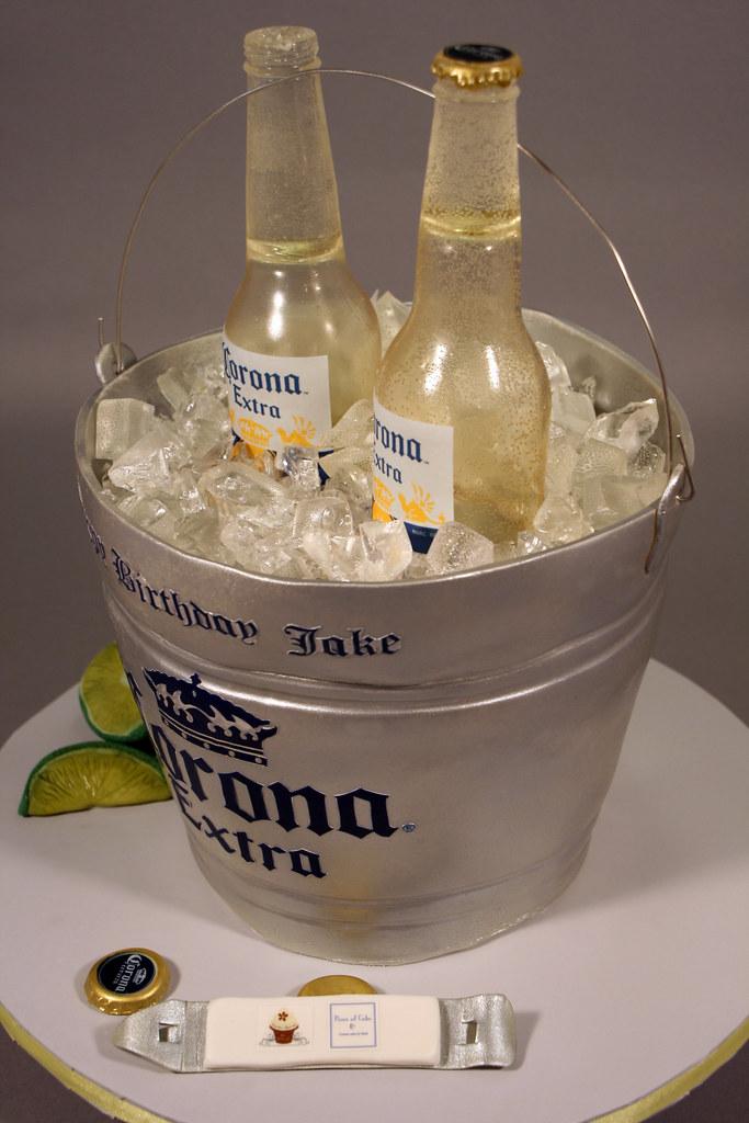 Beer Bucket Cake Ice