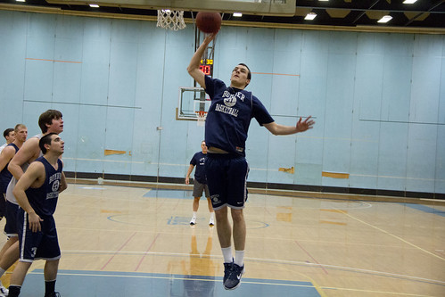 Men's Basketball Practice | by The Ithacan
