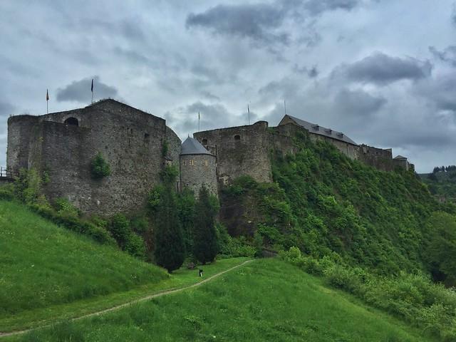 Castillo de Bouillon (Valonia, Bélgica)