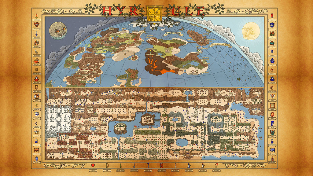 legend of zelda level 8 map with 6400977625 on Hyrule Warriors Legends Thoughts On besides Watch moreover Floating Castle Of Ardad besides Dungeon 6 furthermore Watch.
