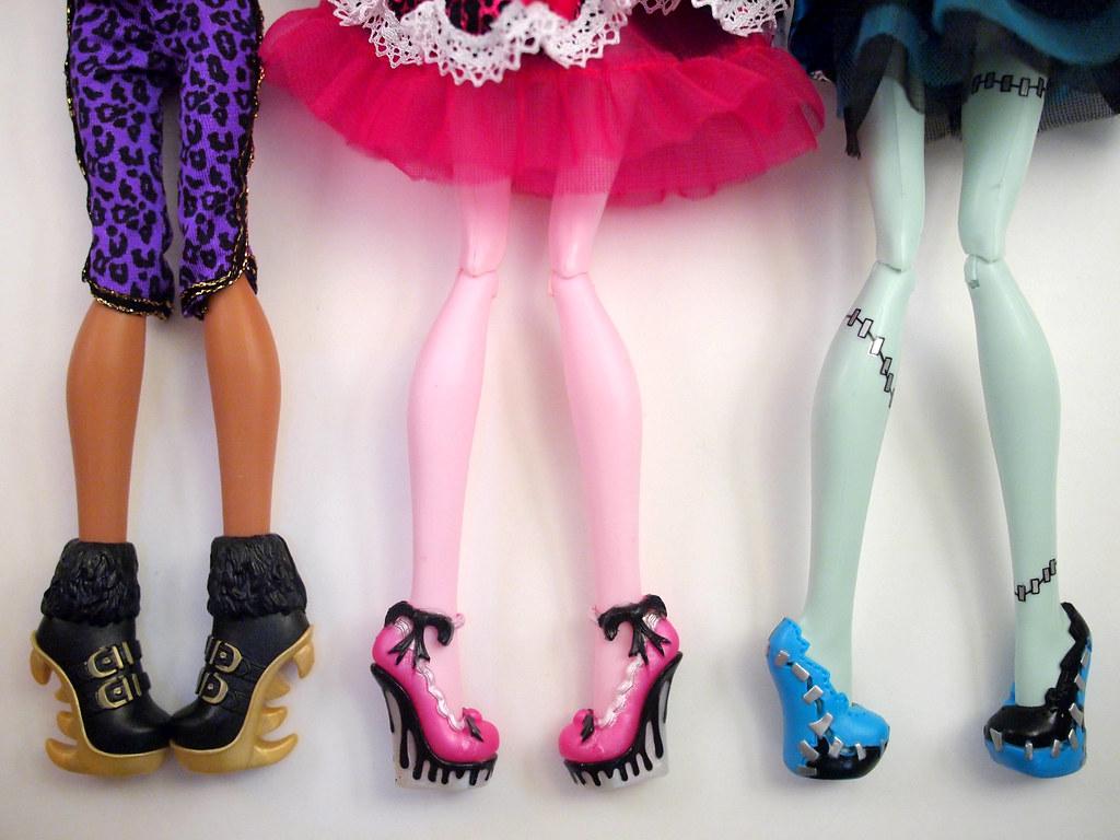 Куклы монстер хай как сделать туфли