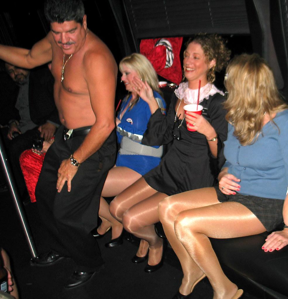 Parties Matures And Pantyhose Brawny 91