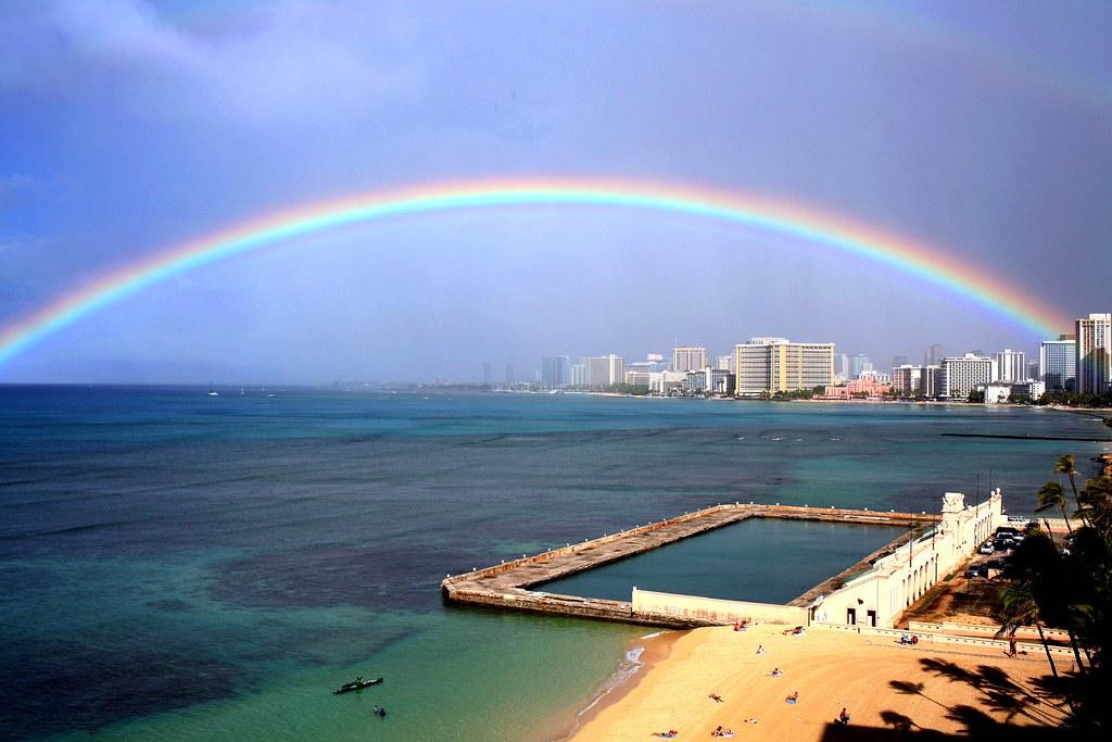 Get Free Credit Report >> rainbow-Clinton Gaughran 2011 | A rainbow over the Waikiki W… | Flickr