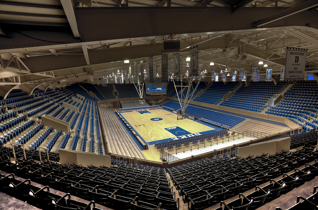 Our House HDR | Cameron Indoor Stadium at Duke University ...