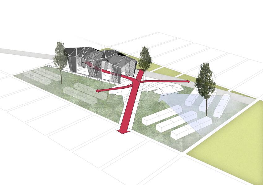 Pavilion Diagram