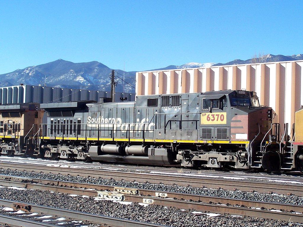Up 6370 Originally Built As Southern Pacific Ac4400cw