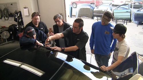 PDR Instructor with Rightlook Students - Paintless Dent Repair Class | by Rightlook.com