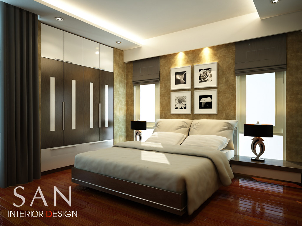 Nam dinh villas interior design master bedroom bach for Modern master bedroom interior design ideas
