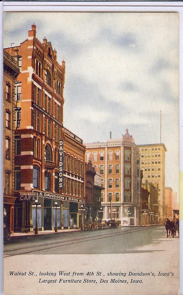 U S Jewish Davidson Bros Store Des Moines Iowa Image Flickr